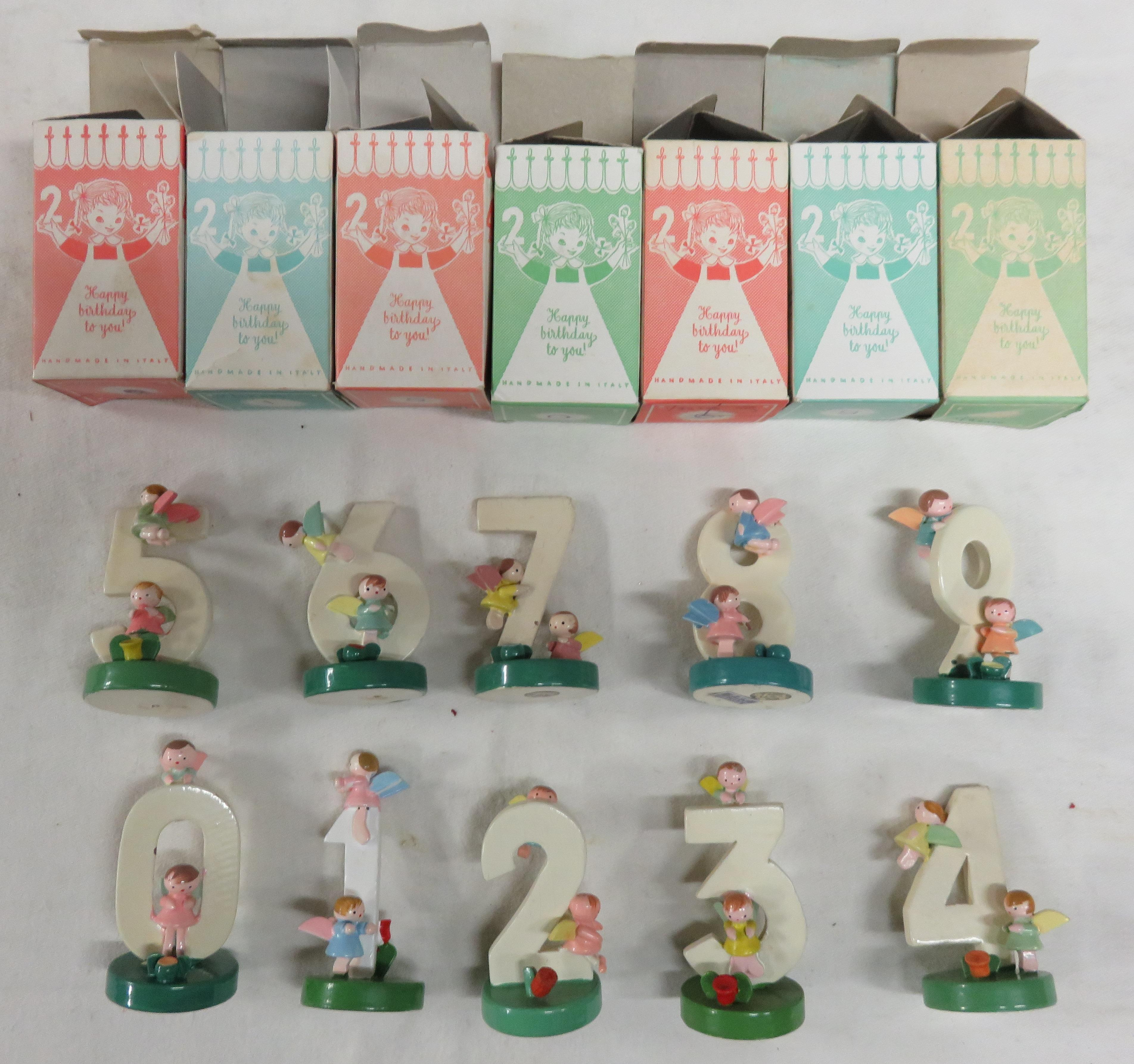 Wooden Birthday Cake Toppers