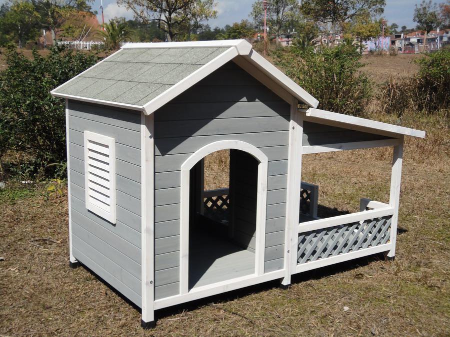 niche chien xxl terrasse cabane chien abri chien. Black Bedroom Furniture Sets. Home Design Ideas